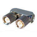 Coaxial Connector 1.6/5.6 Male-Male U Link