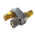 1.6/5.6 T Female-Male-Female Coupler