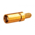 Coaxial Connector MCX Straight Female Crimp