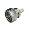 Coaxial Connector 7/16 Straight Male Crimp