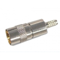 Coaxial Connector BT43 Straight Female Crimp