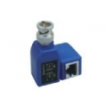 Single BNC Male to RJ45 Balun Box