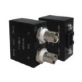 Dual Balun Shielded Isolated BNC(F)*2 to RJ45(F)