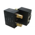 Dual Balun Shielded 1.6/5.6(F)*2 to RJ45(F)