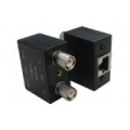 Dual Balun Shielded BT43/SMZ(M)*2 to RJ45(F)