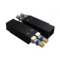 Dual Balun Shielded SMB(F)*2 to RJ45(F)