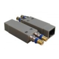 Dual Shielded BT43(SMZ)(M)*2 to RJ45(F) Right Hand Version