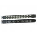 Balun Panel 19″32 Port With 16x Dual BNC(F) To RJ45(F) Balun Box