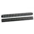 Balun Panel 19″40 Port With 20x Dual BNC(F) To RJ45(F) Balun Box
