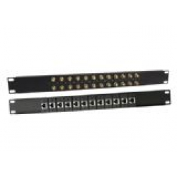 Balun Panel 19″24 Port With 8x Dual L9(F) To RJ45(F) Balun Box