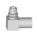 MMCX Right Angle Male Solder For Semi-Rigid Cable