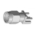 SMA Male End Launch Receptacle-Tab Contact