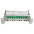 Fixed fiber optic patch panel ODF-12LGX