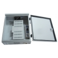 Outdoor wall mounted equipment box