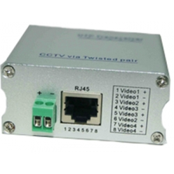 4 Channels passive utp video balun transceive TT9041