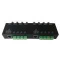 8 Channel passive utp video balun transceiver TT9082