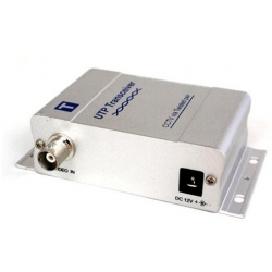 Single channels Active CCTV UTP Video Balun Transmitter TT167T