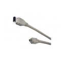 IEEE1394 (Fire Wire) 4 Pin to 6 Pin to 4 Pin 1394 Cable L 6 ft