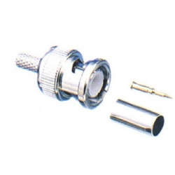 BNC & Connector Accessories BNC For RG58 – Plug Crimp Type