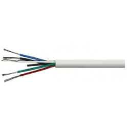 General purpose low voltage circuit wiring 24 AWG, 8C , 7/0.20mm , DCR 87.6 ohm/km