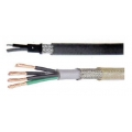 Multiconductors with Steel Wire Braided Double Sheath 0.50 sq.mm. (20 AWG)