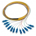 SC/PC Fiber Optic Fanout Pigtail