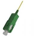 Singlemode OS1 9/125 Fiber Pigtails Cable SC/APC 1 Meter
