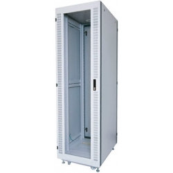 "EXTRA 19"" R- PERFORATION EXPORT SERVER RACK 42U, 60x100 cm."